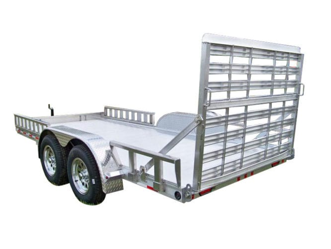 Zimmerman Trailers Aluminum U8 83″ Wide Utility Trailer