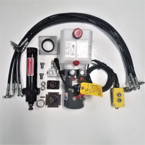 Zimmerman Trailers Easy Lifter Kit EZ6P - 1 Jack kit with power unit