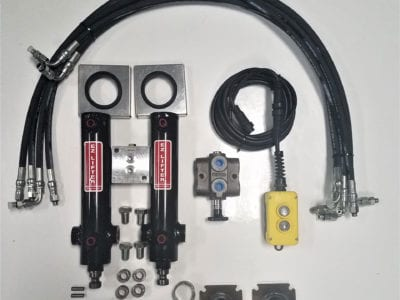 Zimmerman Trailers Easy Lifter Kit EZ9CNP - 2 Jack kit without power unit