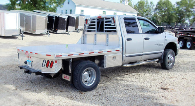 Gray Truck Flat Deck Edited