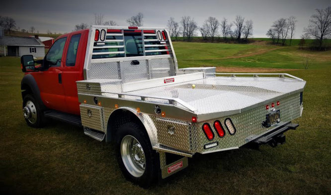 Zimmerman Trailers Town & Country Bed